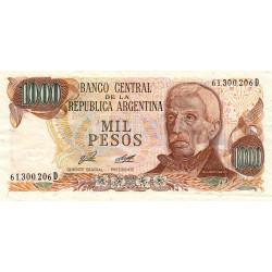 Argentine - Pick 304b_1 - 1'000 pesos - Série D - 1976 - Etat : TTB+