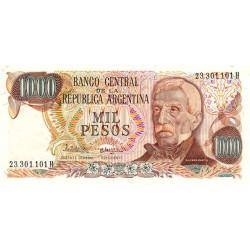 Argentine - Pick 304c3 - 1'000 pesos - Série H - 1978 - Etat : NEUF