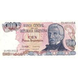 Argentine - Pick 315_1 - 100 pesos argentinos - Série A - 1983 - Etat : NEUF