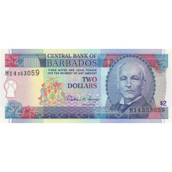 Barbade - Pick 46 - 2 dollars - 1995 - Etat : NEUF