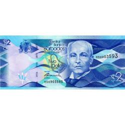 Barbade - Pick 73a - 2 dollars - 02/05/2013 - Etat : NEUF