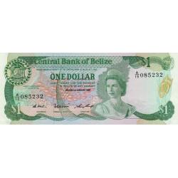 Belize - Pick 46c - 1 dollar - 1987 - Etat : NEUF