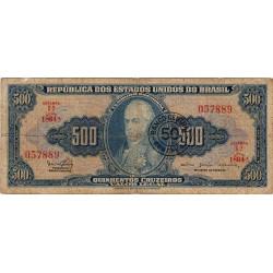 Brésil - Pick 186 - 50 centavos - 1967 - Etat : TB