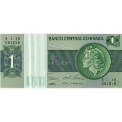 Brésil - Pick 191Ab - 1 cruzeiro - 1975 - Etat : NEUF