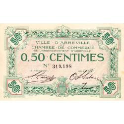 Abbeville - Pirot 1-1 - 50 centimes - Sans date - Etat : SUP