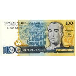 Brésil - Pick 211b - 100 cruzados - 1987 - Etat : NEUF