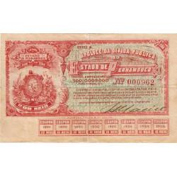 Brésil - Pick S 487 - 200 reis - 22/06/1895 - Etat : TTB+