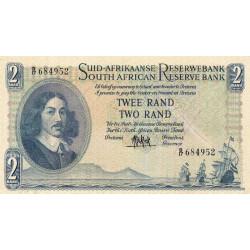 Afrique du Sud - Pick 105a - 2 rand - 1961 - Etat : TTB-
