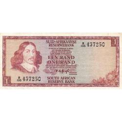 Afrique du Sud - Pick 116a - 1 rand - 1973 - Etat : TB+