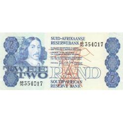Afrique du Sud - Pick 118c - 2 rand - 1981 - Etat : SUP