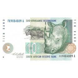 Afrique du Sud - Pick 123a - 10 rand - 1993 - Etat : TTB+
