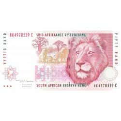 Afrique du Sud - Pick 125c - 50 rand - 1999 - Etat : SPL