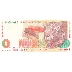 Afrique du Sud - Pick 127b - 200 rand - 1999 - Etat : TTB