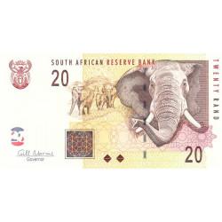 Afrique du Sud - Pick 129b - 20 rand - 2009 - Etat : NEUF