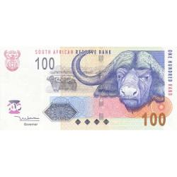 Afrique du Sud - Pick 131a - 100 rand - 2005 - Etat : TTB+