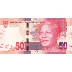 Afrique du Sud - Pick 135 - 50 rand - 2012 - Etat : NEUF