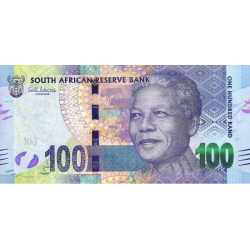 Afrique du Sud - Pick 141a - 100 rand - 2013 - Etat : NEUF