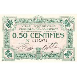 Abbeville - Pirot 1- non répertorié - 50 centimes - Sans date - Etat : SUP