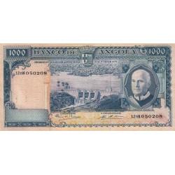 Angola - Pick 98 - 1'000 escudos - Série 12 nN - 10/06/1970 - Etat : TTB+