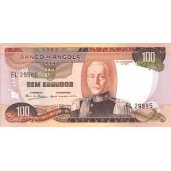 Angola - Pick 101 - 100 escudos - 1972 - Etat : UNC