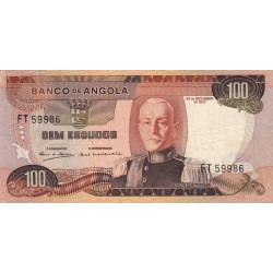 Angola - Pick 101 - 100 escudos - 24/11/1972 - Etat : TTB