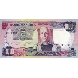 Angola - Pick 103 - 1'000 escudos - 24/11/1972 - Etat : SUP