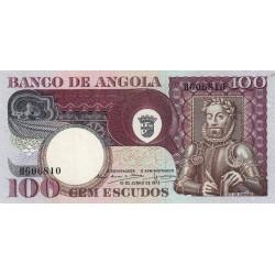 Angola - Pick 106 - 100 escudos - 10/06/1973 - Etat : TTB