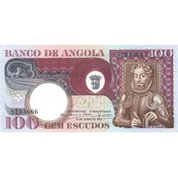 Angola - Pick 106 - 100 escudos - 10/06/1973 - Etat : NEUF