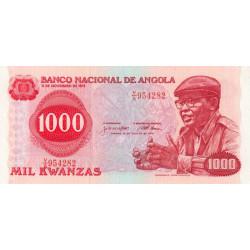Angola - Pick 117 - 1'000 kwanzas - Série V/A - 14/08/1979 - Etat : SUP+