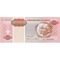 Angola - Pick 140 - 500'000 kwanzas reajustados - 01/05/1995 - Etat : NEUF