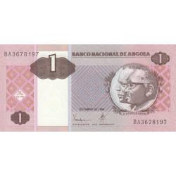 Angola - Pick 143 - 1 kwanza - Série BA - 10/1999 - Etat : NEUF