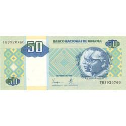 Angola - Pick 146a - 50 kwanzas - 10/1999 - Etat : NEUF