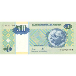 Angola - Pick 146a - 50 kwanzas - 1999 - Etat : NEUF
