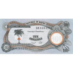 Biafra - Pick 4 - 10 shillings - Série GK - 1969 - Etat : NEUF
