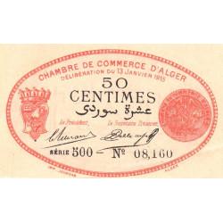 Algérie - Alger 137-5 - 50 centimes - Série 500 - 13/01/1915 - Etat : SPL