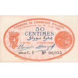 Algérie - Alger 137-23 - 50 centimes - Série C.1 - 14/06/1922 - Etat : SPL