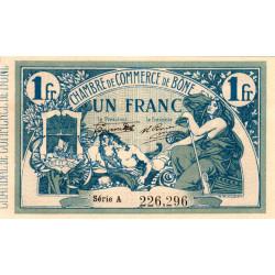 Algérie - Bône 138-05 - 1 franc - Série A - 1917 - ETAT : SPL