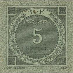 Algérie - Bougie-Sétif 139-09-1 - 5 centimes - 1916 - Etat : SPL
