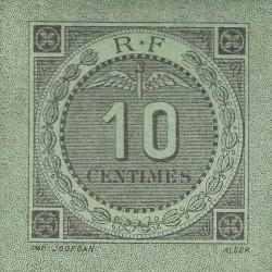 Algérie - Bougie-Sétif 139-10-1 - 10 centimes - 1916 - Etat : SUP