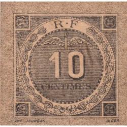Algérie - Bougie-Sétif 139-10-2 - 10 centimes - 1916 - Etat : SUP