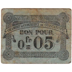 Algérie - Constantine 140-46 - 0,05 franc - 12/10/1915 - Etat : TB-
