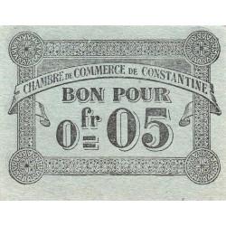 Algérie - Constantine 140-46 - 0,05 franc - 12/10/1915 - Etat : TTB-