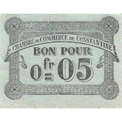 Algérie - Constantine 140-46 - 0,05 franc - 1921 - 1915 - ETAT : TTB-
