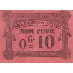 Algérie - Constantine 140-47 - 0,10 franc - 12/10/1915 - Etat : SPL