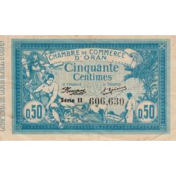 Algérie - Oran 141-04 - 50 centimes - Série II - 1915 - ETAT : TTB