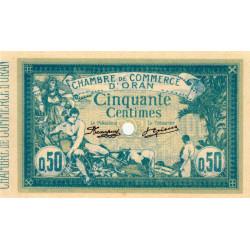 Algérie - Oran 141-7 - 50 centimes spécimen - 10/11/1915 - Etat : SPL