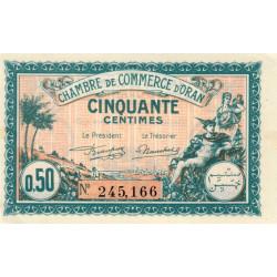 Algérie - Oran 141-25 - 50 centimes - 1921 - ETAT : SUP