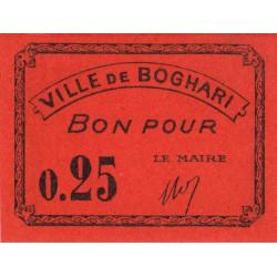 Algérie - Boghari 3 - 0,25 franc - 1916 - Etat : NEUF