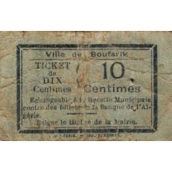 Algérie - Boufarik 2 - 10 centimes - 1916 - Etat : B