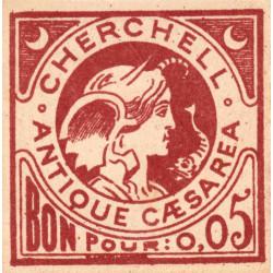 Algérie - Cherchell 1 - 0,05 franc - 1916 - Etat : NEUF
